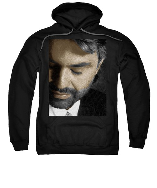 Andrea Bocelli And Vertical Sweatshirt