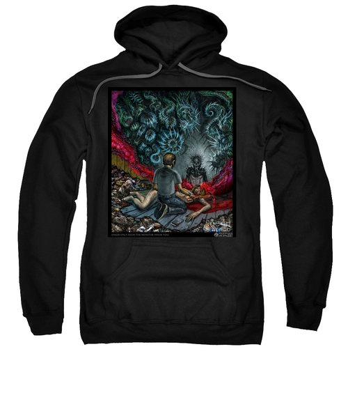 Anger Only Feeds The Monster Inside You Sweatshirt