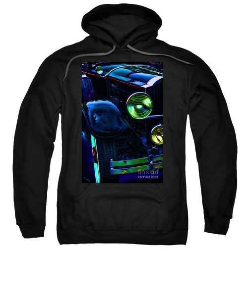 Antique Rolls Royce Car Abstract Sweatshirt