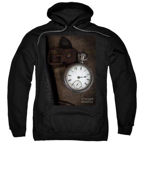 Antique Pocket Watch Traveler Sweatshirt