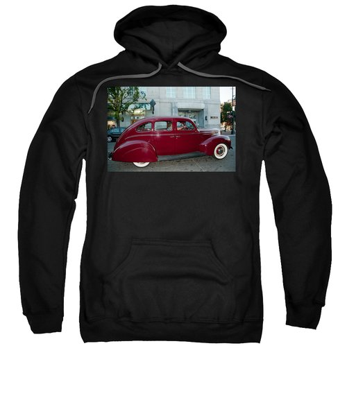 Antique Red Car Sweatshirt