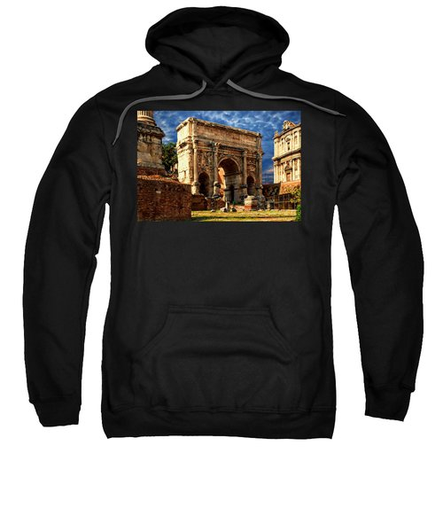 Arch Of Septimius Severus Sweatshirt