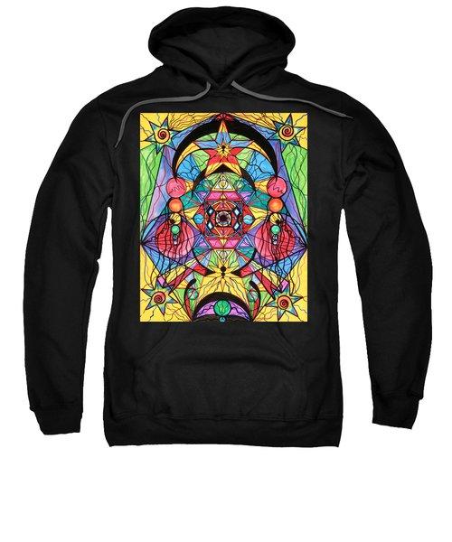 Arcturian Ascension Grid Sweatshirt