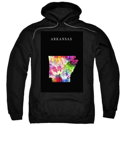 Arkansas State Sweatshirt by Daniel Hagerman