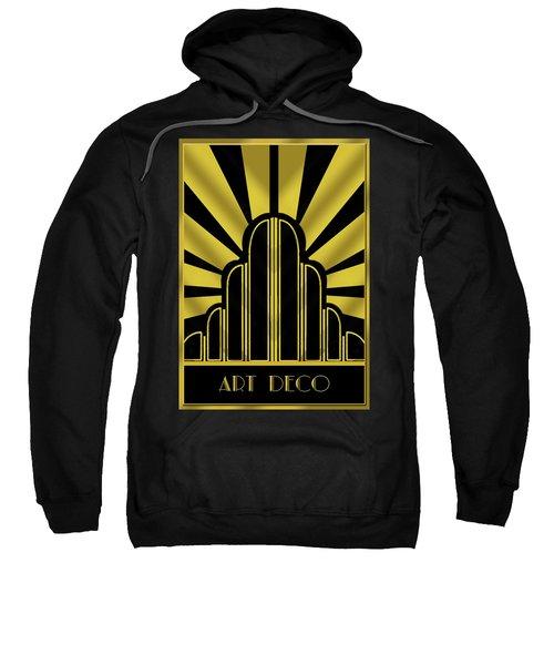 Art Deco Poster - Title Sweatshirt