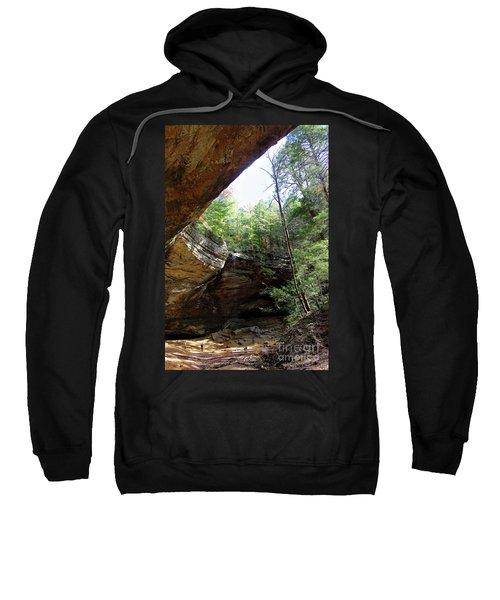 Ash Cave Of The Hocking Hills Sweatshirt