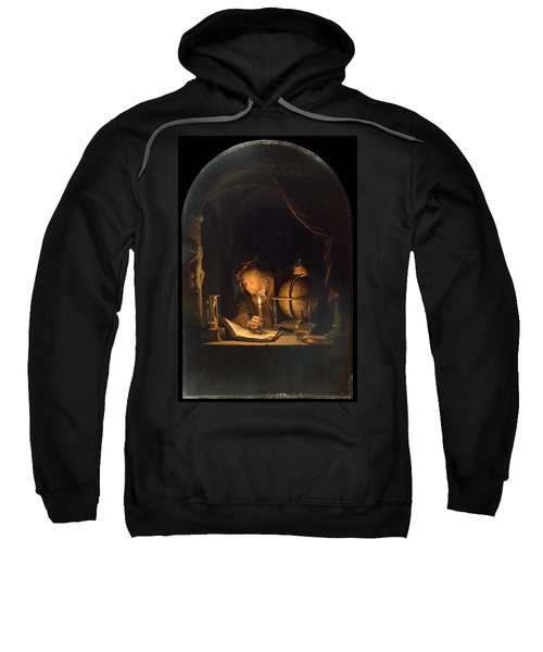 Astronomer By Candlelight Sweatshirt