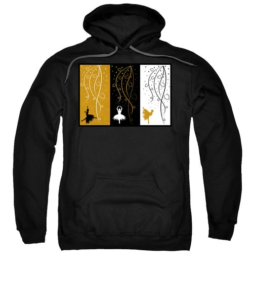 At The Ballet Triptych 4 Sweatshirt