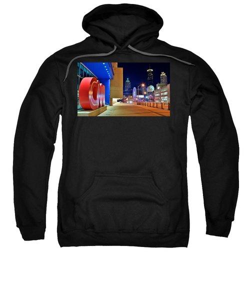 Atlanta Outside Cnn Sweatshirt