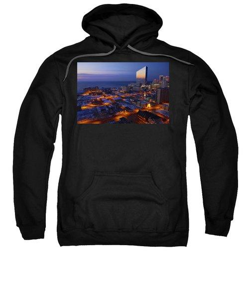 Atlantic City At Dawn Sweatshirt