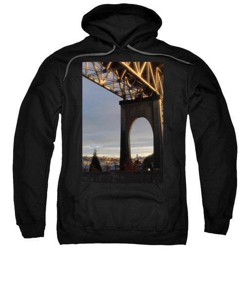 Aurora Bridge Seattle Washington  Sweatshirt