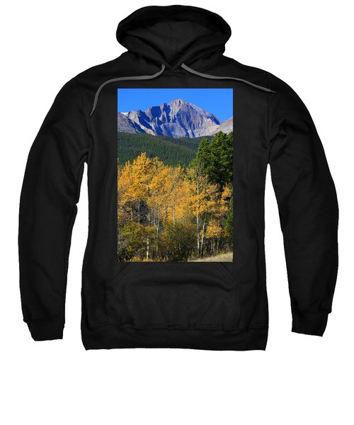 Autumn Aspens And Longs Peak Sweatshirt