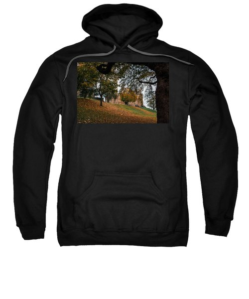 Sweatshirt featuring the photograph Autumn At Linlithgow Palace by Ross G Strachan