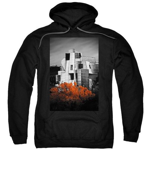 autumn at the Weisman Sweatshirt by Matthew Blum