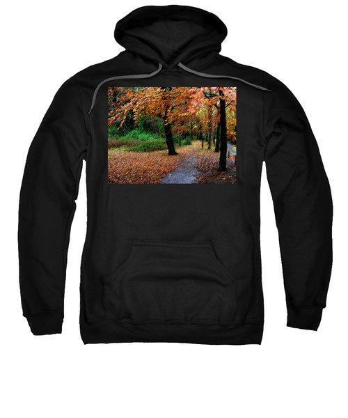 Autumn Entrance To Muckross House Killarney Sweatshirt