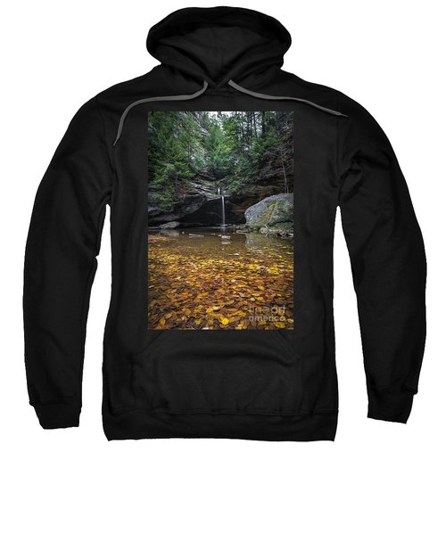 Autumn Falls Sweatshirt by James Dean