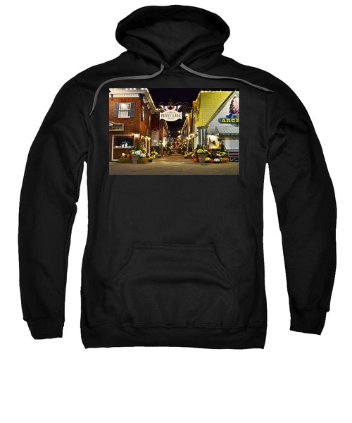 Autumn In Penny Lane - Rehoboth Beach Delaware Sweatshirt