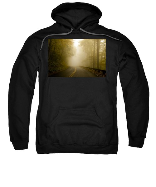 Autumn Mist Blue Ridge Parkway Sweatshirt