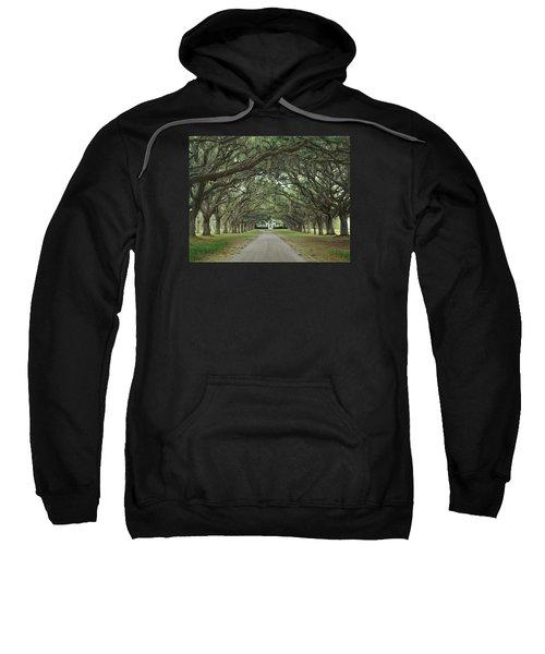 147706-avenue Of The Oaks  Sweatshirt