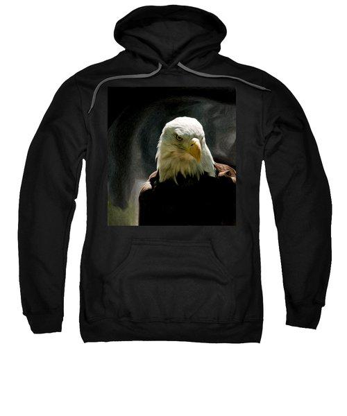 Bald Eagle Giving You That Eye Sweatshirt
