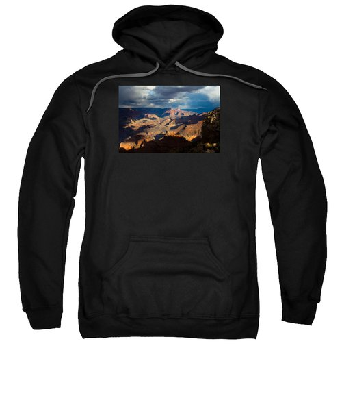 Battleship Rock In The Shadows Sweatshirt
