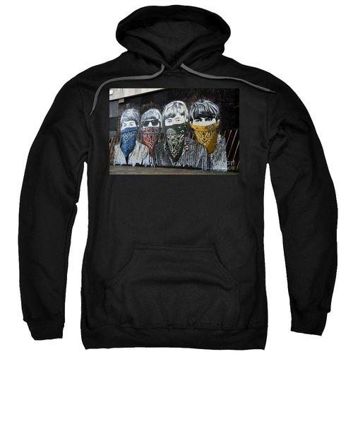 Beatles Street Mural Sweatshirt