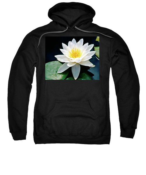Beautiful Water Lily Capture Sweatshirt