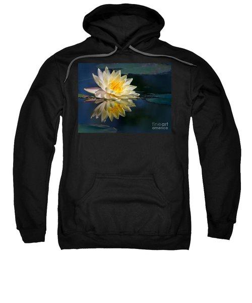 Beautiful Water Lily Reflection Sweatshirt