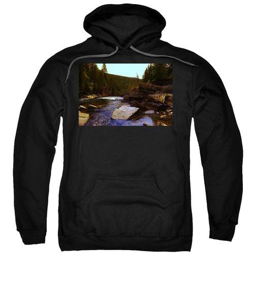Beautiful Yak River Montana Sweatshirt