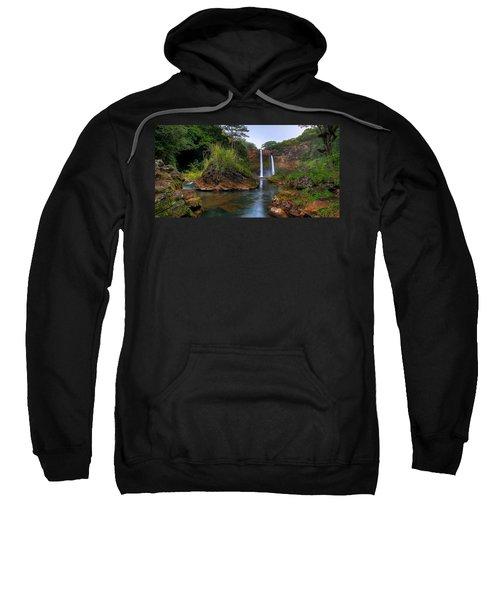 Below Wailua Falls Sweatshirt