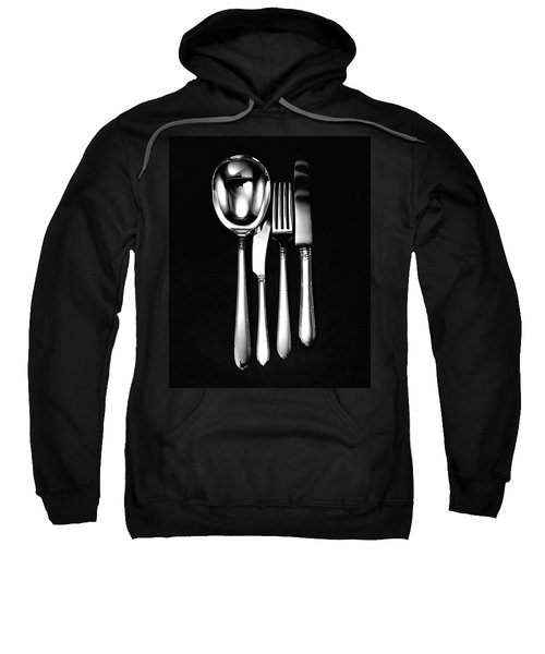 Berkeley Square Silverware Sweatshirt