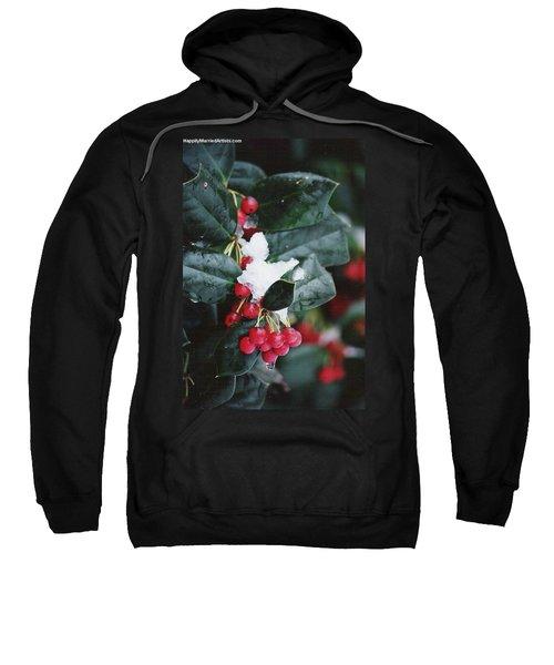 Berries In The Snow Sweatshirt
