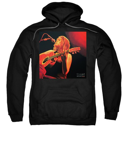 Beth Hart  Sweatshirt by Paul Meijering