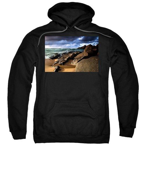 Between Rocks And Water Sweatshirt