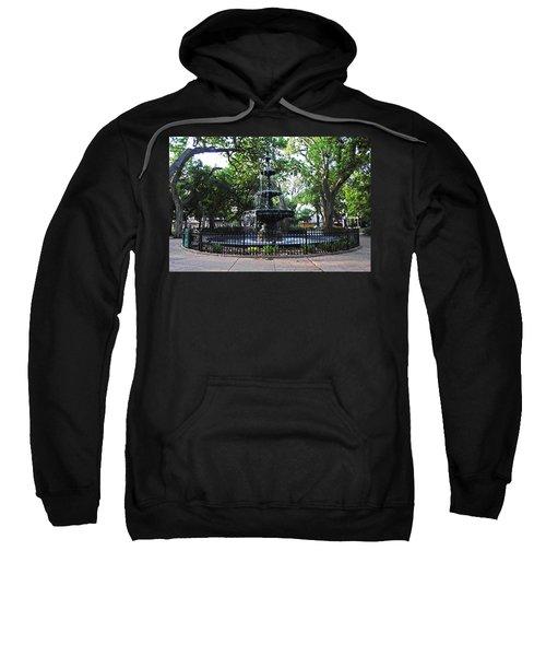 Bienville Fountain Mobile Alabama Sweatshirt