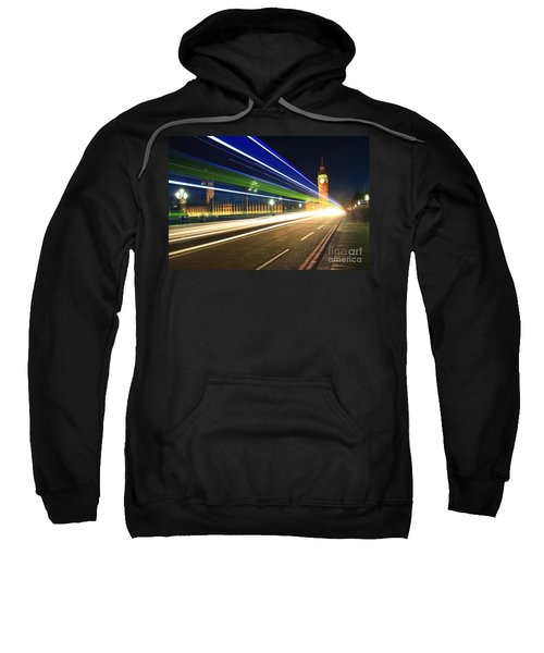 Big Ben And A Bus Sweatshirt
