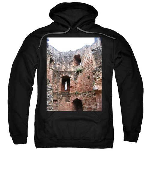 Sweatshirt featuring the photograph Bird's Eye View by Denise Railey