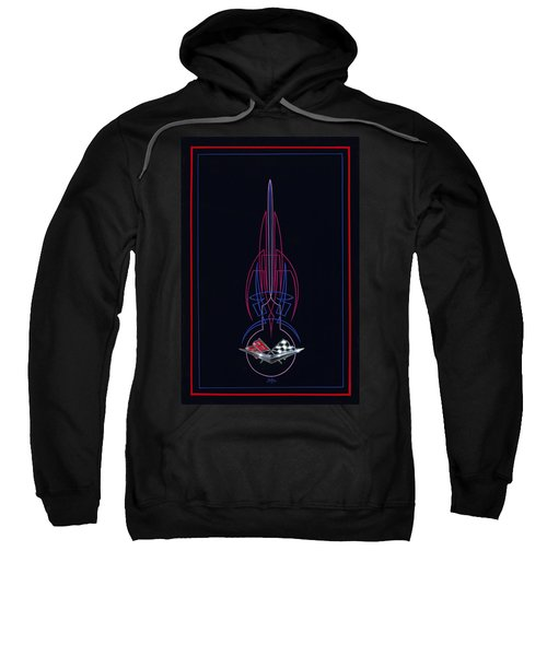 Black Corvette Sweatshirt
