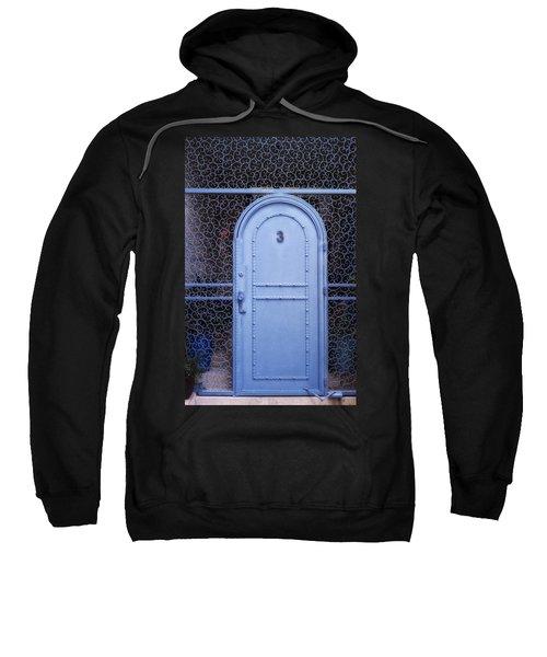 Blue Door Old City Jerusalem Israel Sweatshirt
