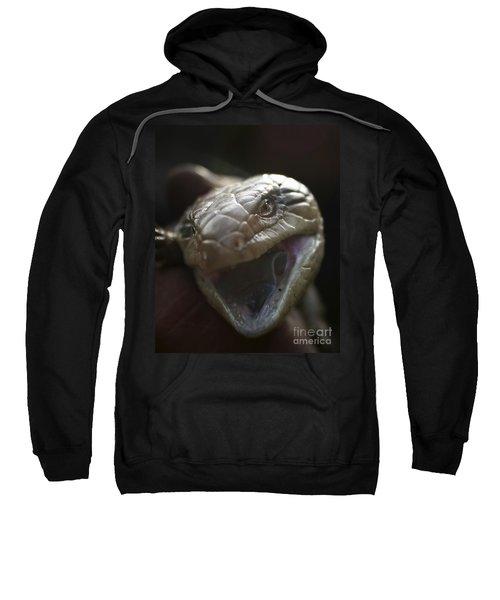 Blue Tongue Lizard Sweatshirt