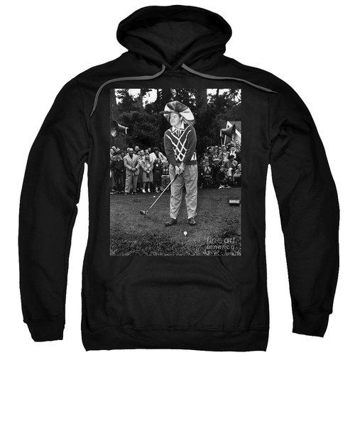 Bob Hope At Bing Crosby National Pro-am Golf Championship  Pebble Beach Circa 1955 Sweatshirt