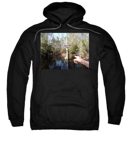 Sweatshirt featuring the photograph Bogger Woods by Kim Pate