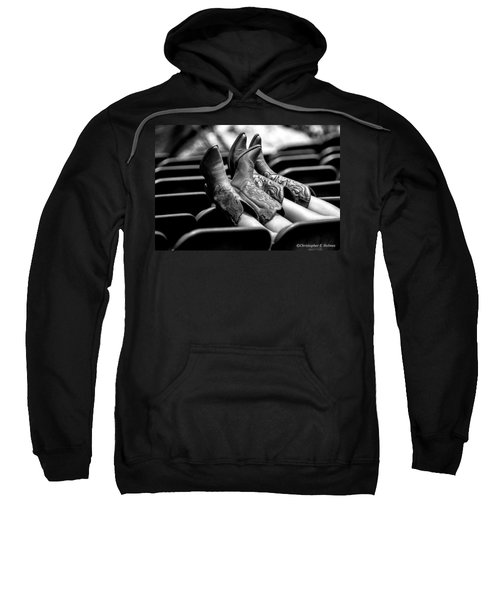 Boots Up - Bw Sweatshirt