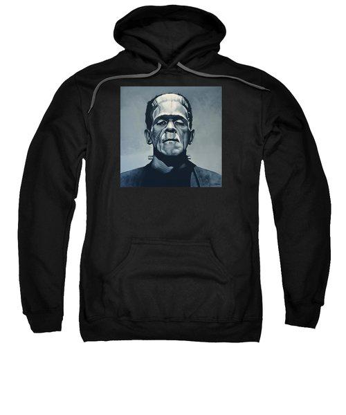 Boris Karloff As Frankenstein  Sweatshirt