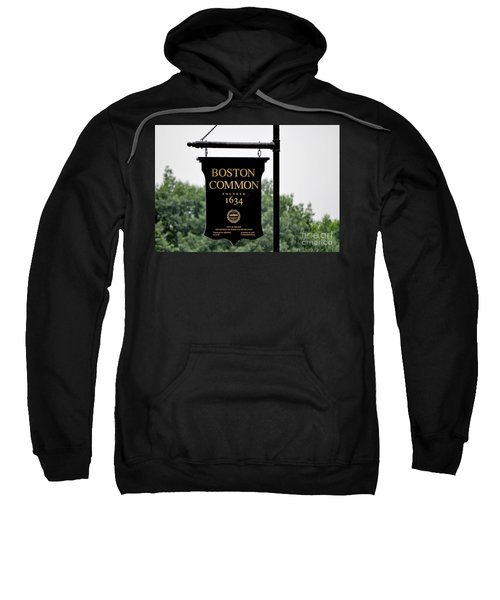 Boston Common Ma Sweatshirt