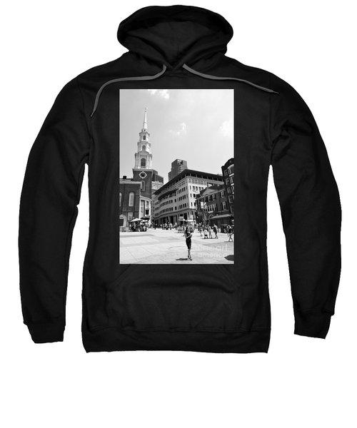 Boston Common Scene Sweatshirt