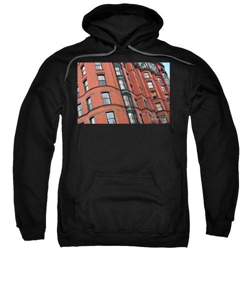 Boston Ma Building Facade Sweatshirt