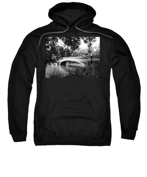 Bow Bridge In Black And White Sweatshirt
