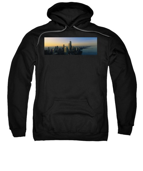 Buildings At The Waterfront, Chicago Sweatshirt by Panoramic Images