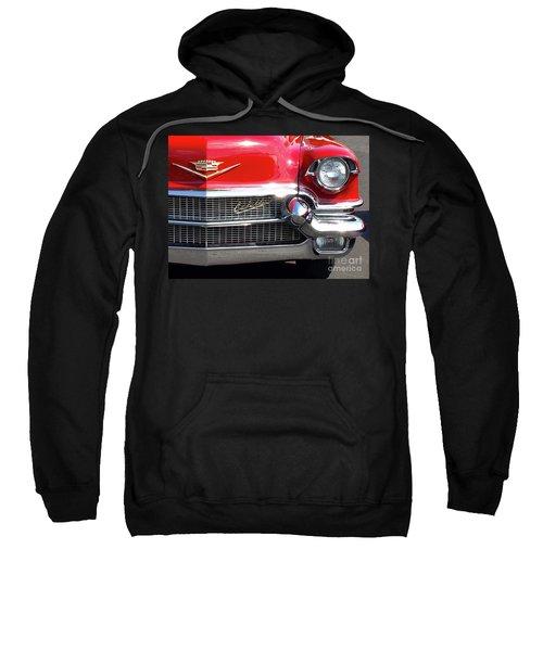 Bullet Bumpers - 1956 Cadillac Sweatshirt